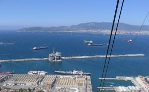 Ships in Gibraltar