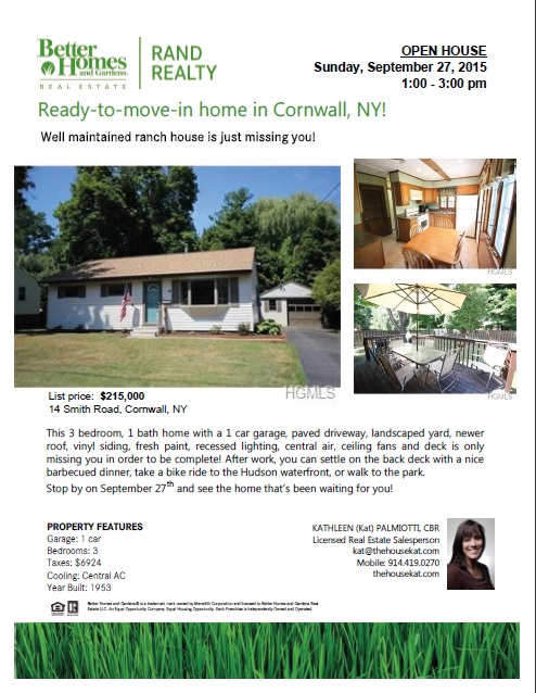 14 Smith Road open house